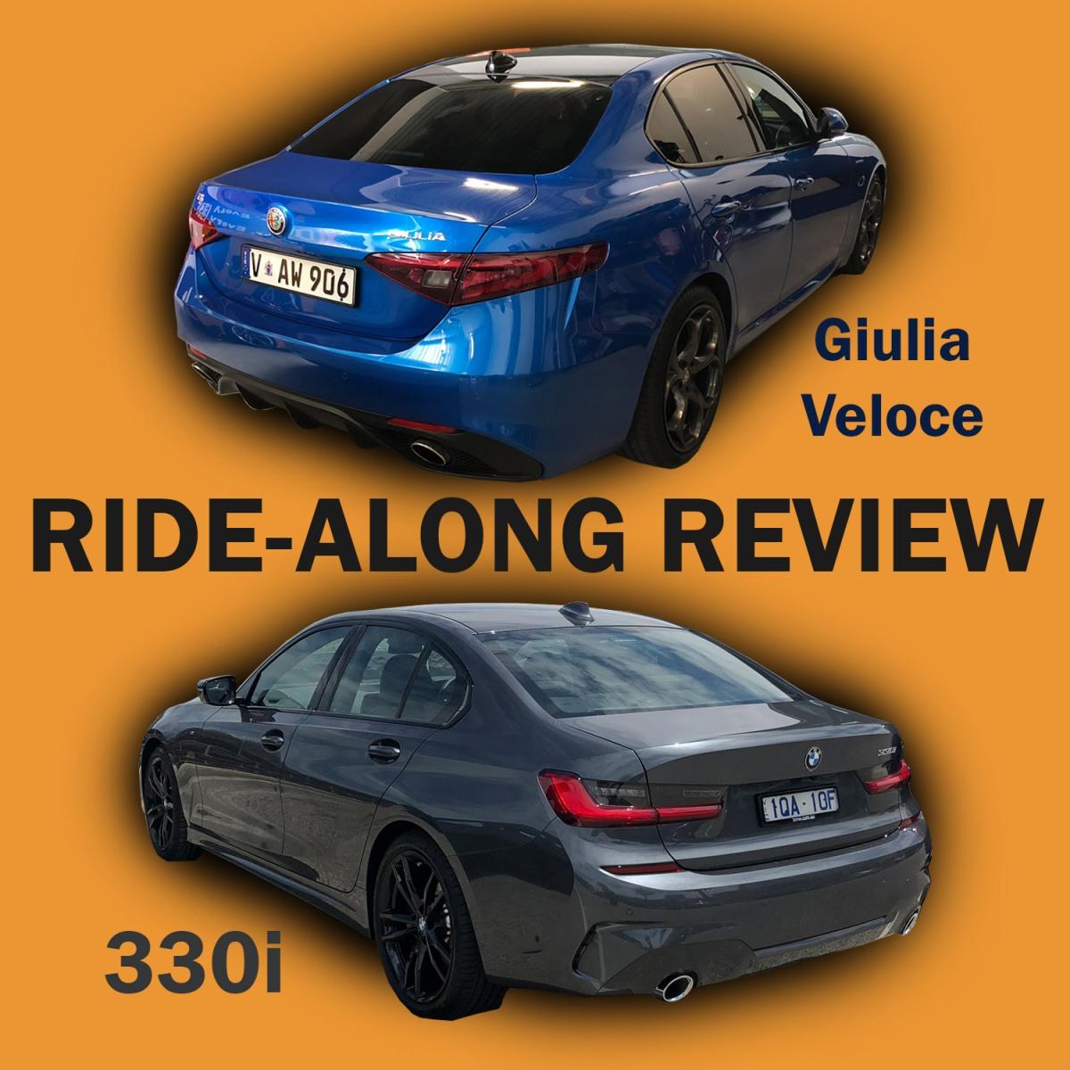 2019 BMW 330i Vs Alfa Romeo Giulia Veloce: Ride-along