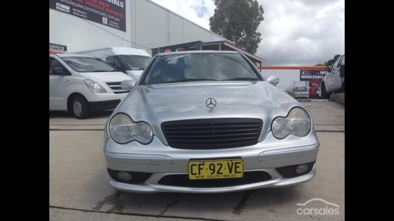 2dbce78679 UCBW  9 – READER S CHOICE – 2002 Mercedes Benz C32 AMG – Redline