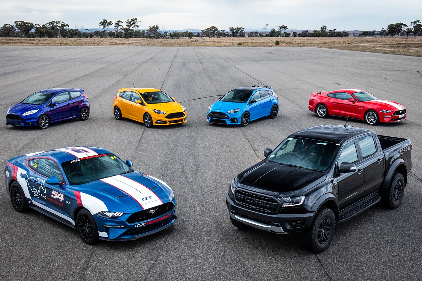 Ford Performance Sub Brand Announced For Australia Mustang