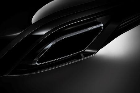 .Black exhaust tips.