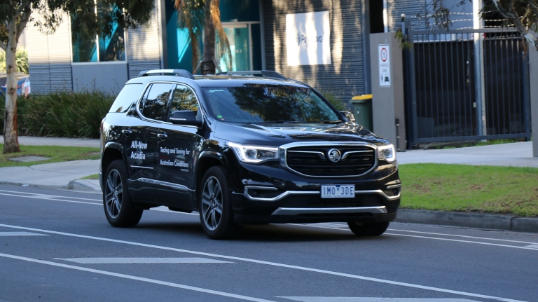Holden Acadia on road