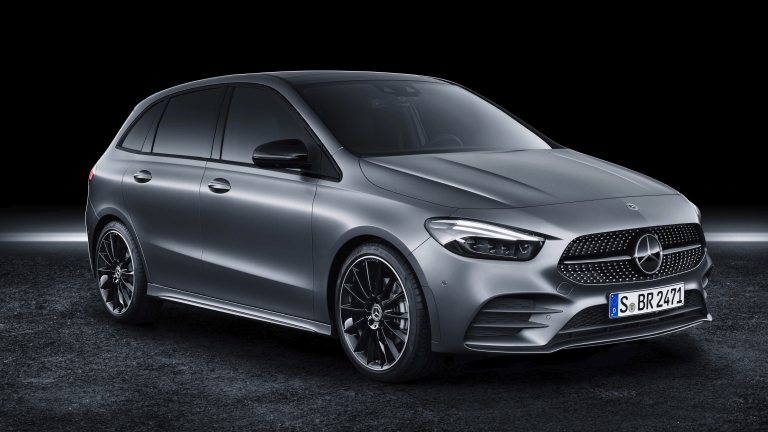 Die neue Mercedes-Benz B-Klasse: Mehr Sports für den Tourer  The new Mercedes-Benz B-Class: More Sports for the Tourer