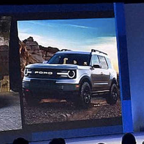 Ford 'baby Bronco' leaked in dealer conference images ...