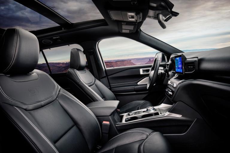 All-new Explorer ST interior