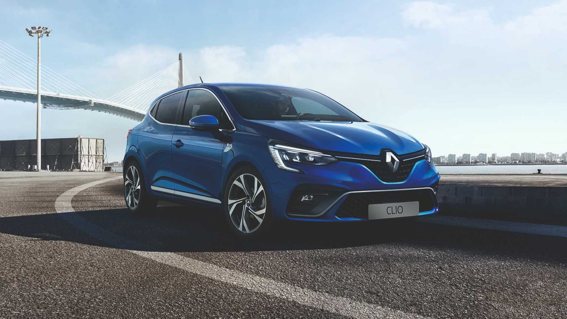 2019 renault clio officially unveiled redline. Black Bedroom Furniture Sets. Home Design Ideas