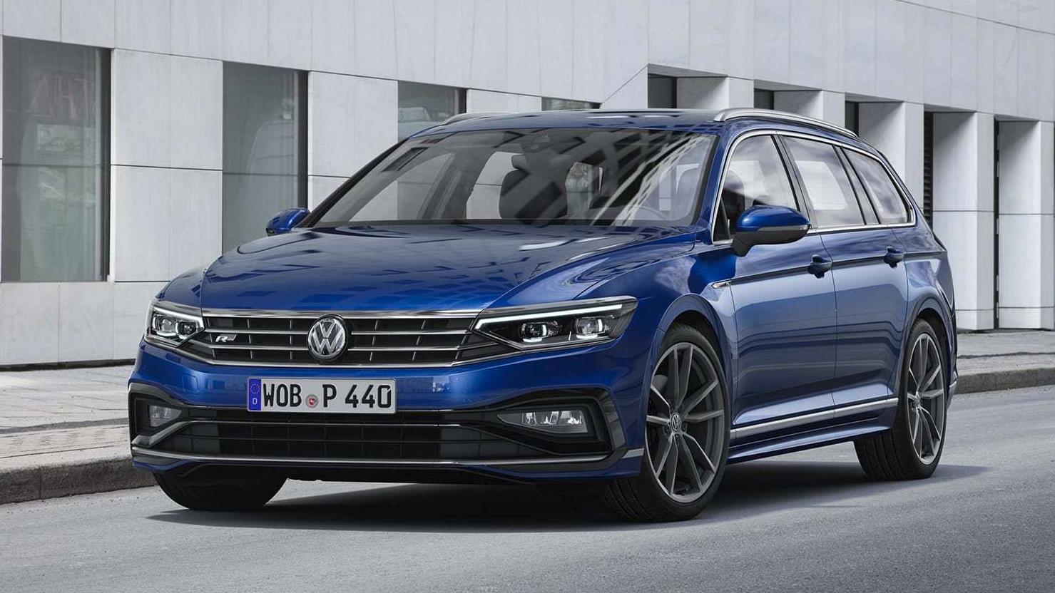 2020 volkswagen passat facelift officially unveiled  u2013 redline
