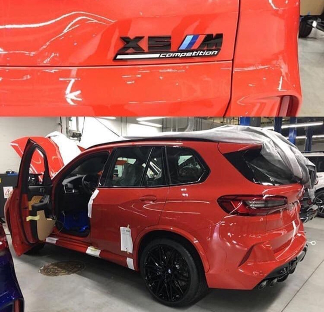2020 Bmw X5 M Competition Leaked Redline