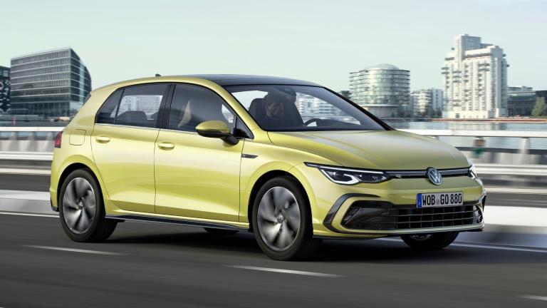 The new Volkswagen Golf R-Line