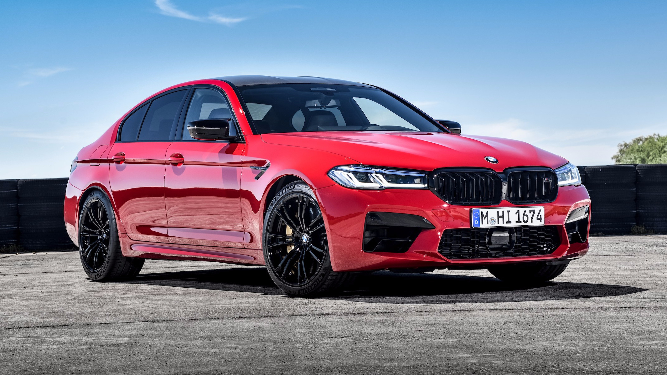 2021 Bmw M5 Facelift Revealed Redline